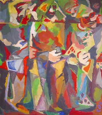 Drei Gestalten, 1952