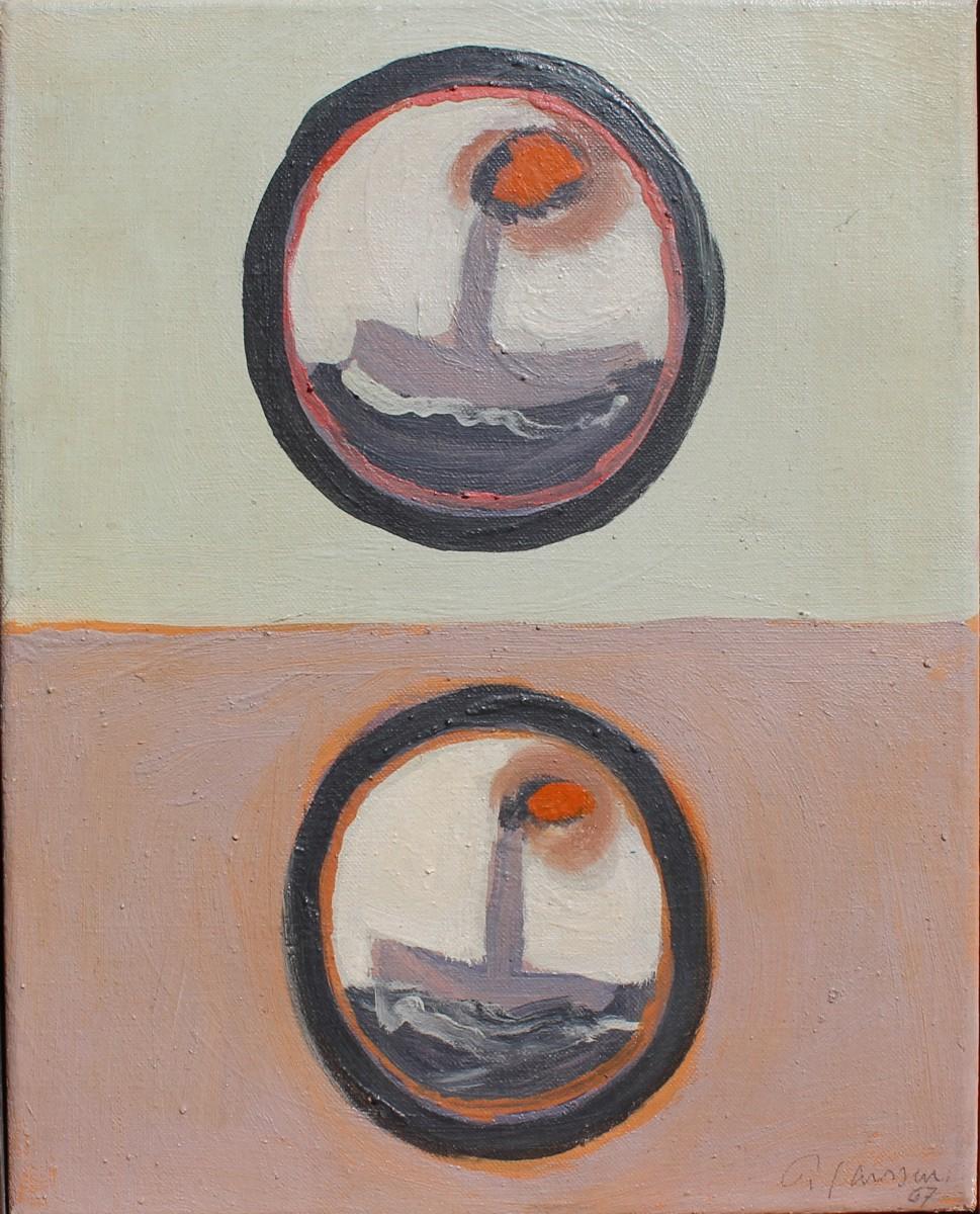 Zwei Boote, 1967, für vergrößerte Ansicht bitte anklicken!