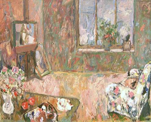 Studio without Painter, painting by Peter Janssen.