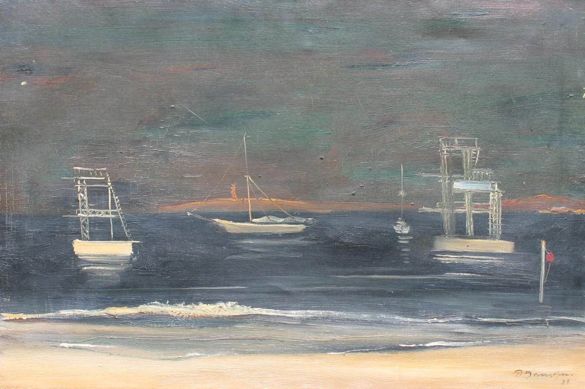 Boote vor Juan les Pins