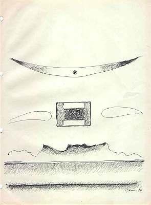Ohne Titel, Zeichnung von Peter Janssen
