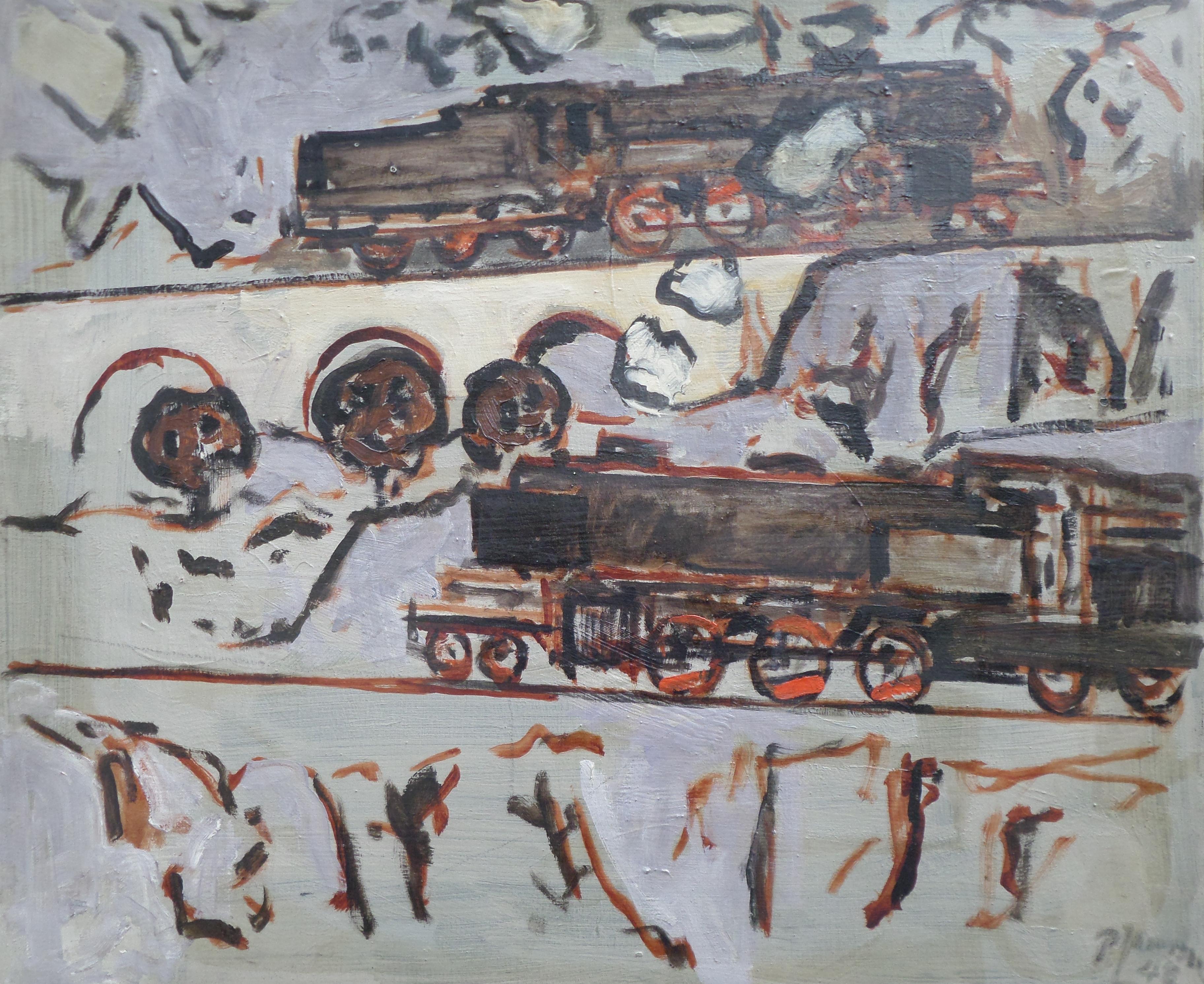 2 Lokomotiven, für vergrößerte Ansicht bitte anklicken!