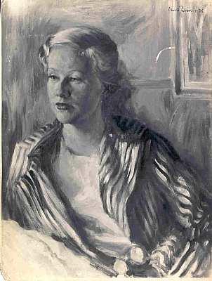 Frauenportrait 1936