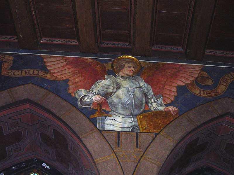Der heilige Michael - klicken für vergrößerte Ansicht!