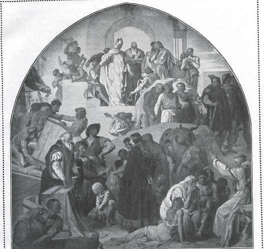 Besiedlung der Ostseeprovinzendurch die Hansa um die Wende des 12. Jahrhunderts