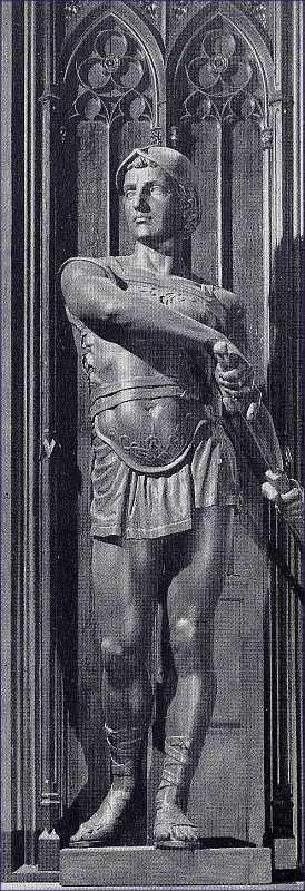 Fortitudo- Bronzeskulptur!