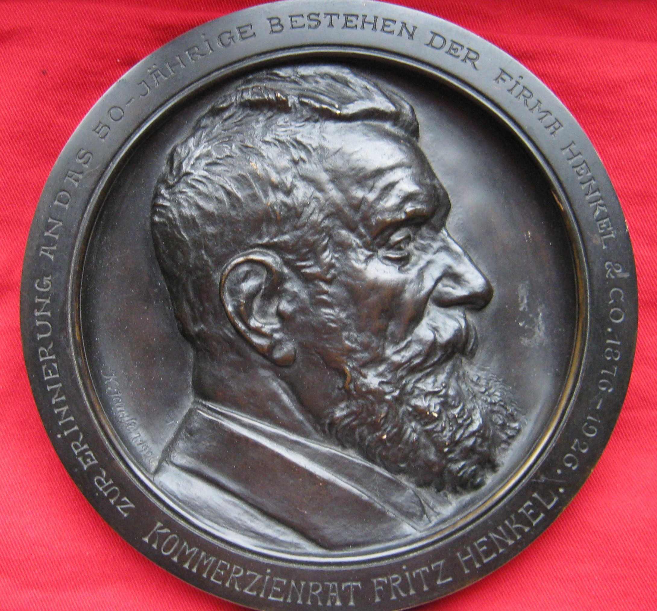 Kommerzienrat Fritz Henkel, zur Erinnerung an das 50-Jährige Bestehen der Firma Henkel & Co 1876 -1926