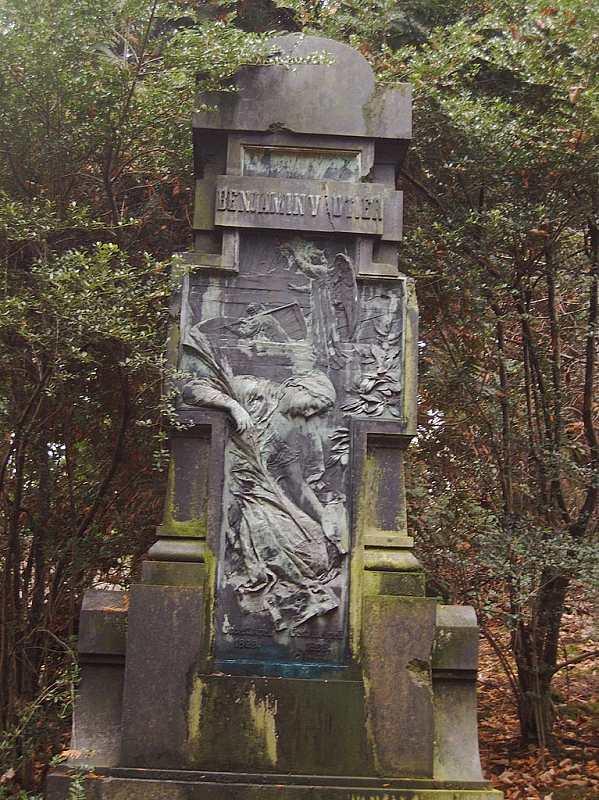 Grabmal Benjamin Vautier auf dem Düsseldorfer Nordfriedhof