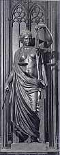 Bronzeskulptur - Justitia im Erfurter Rathaus, hier klicken für vergrößerte Ansicht!