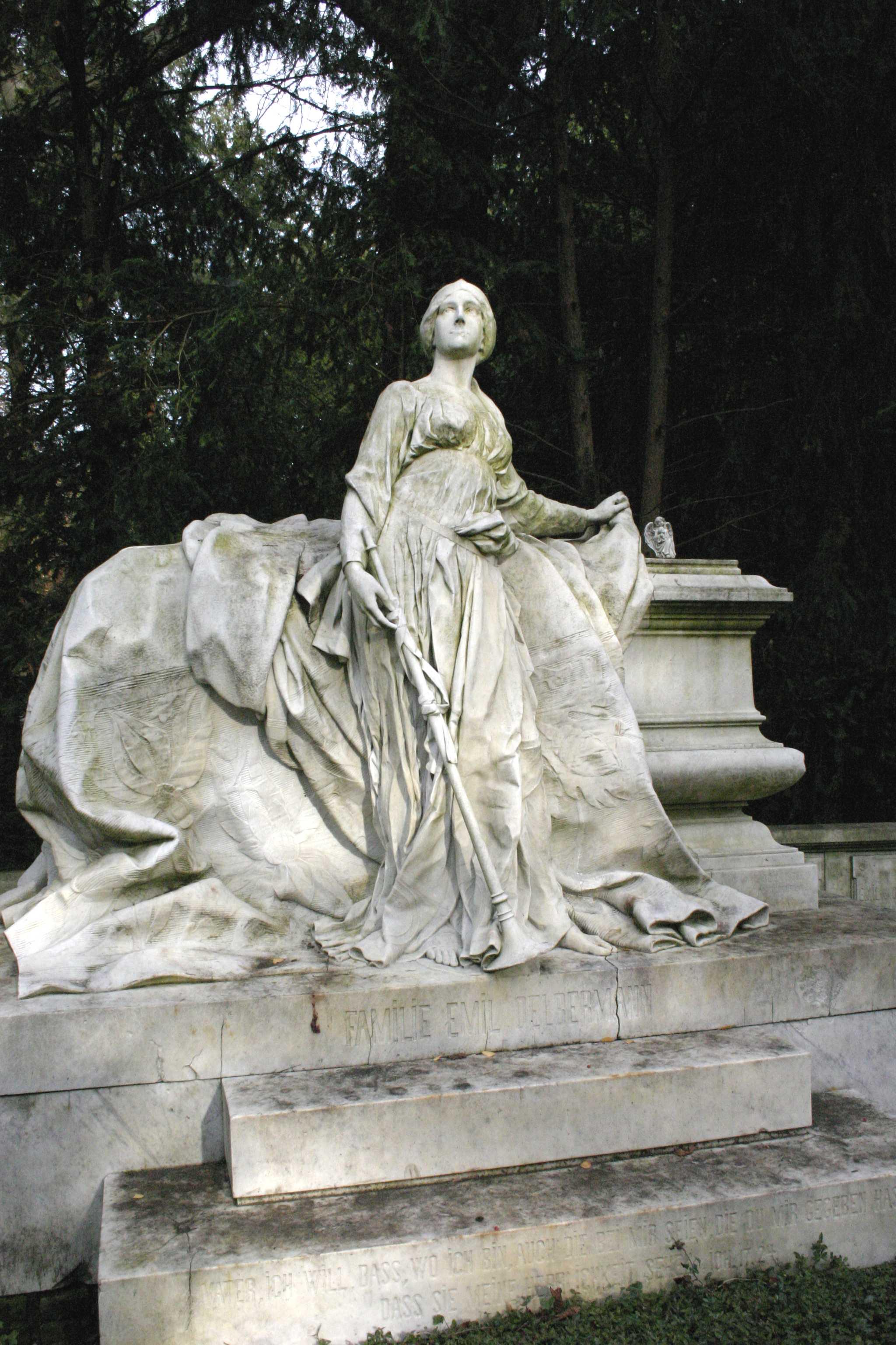 Grabmal von Oelbermann auf dem Kölner Melatenfriedhof