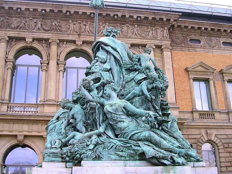 Vater Rhein und seine Töchter