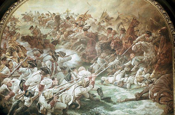 Schlacht bei Hohenfriedberg 1745 (entstanden um 1882)