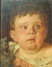 Peter Janssen der Jüngere, gemalt von seinem Großvater Johann Peter Theodor Janssen