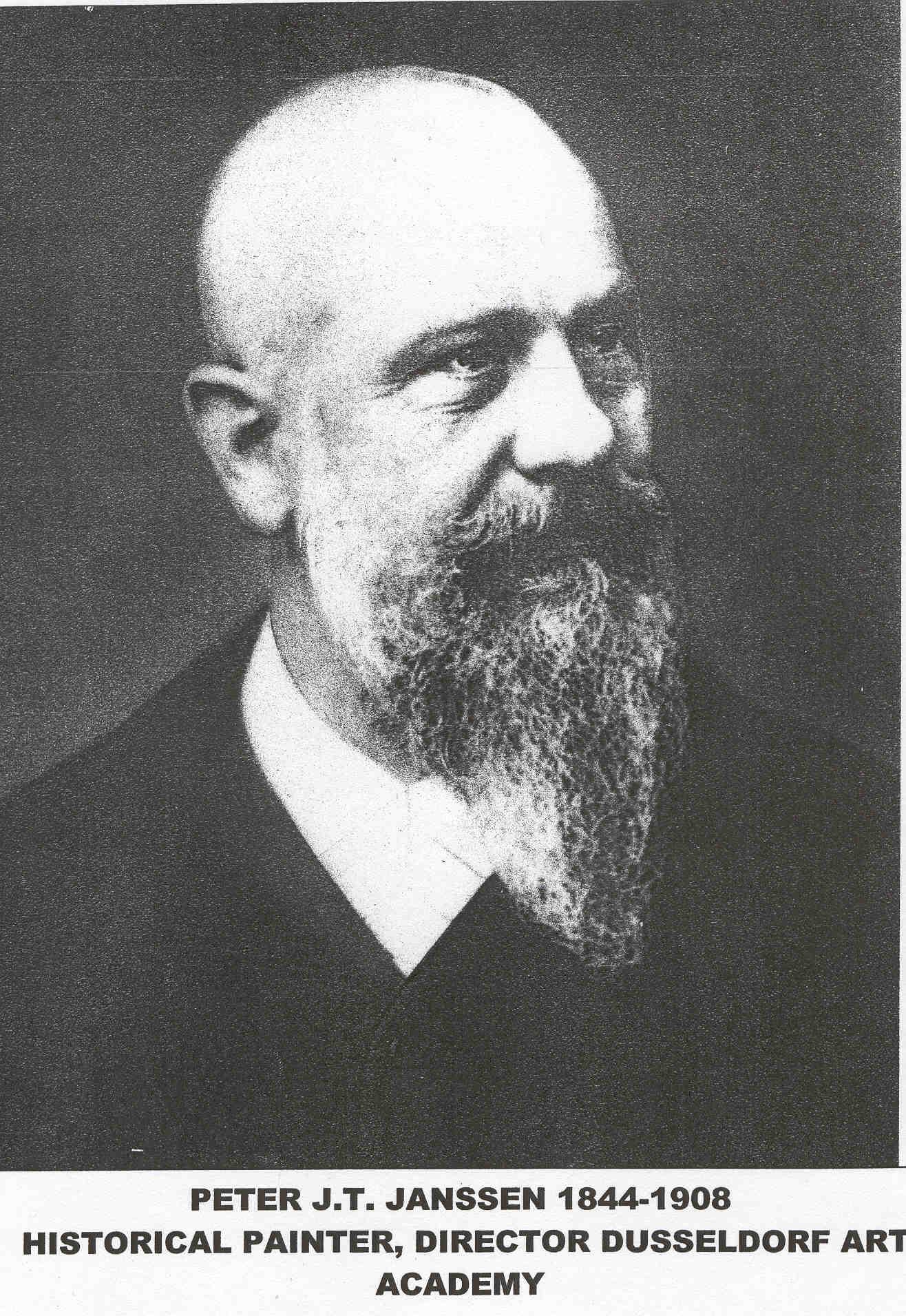 Prof. Peter Janssen 1844-1908