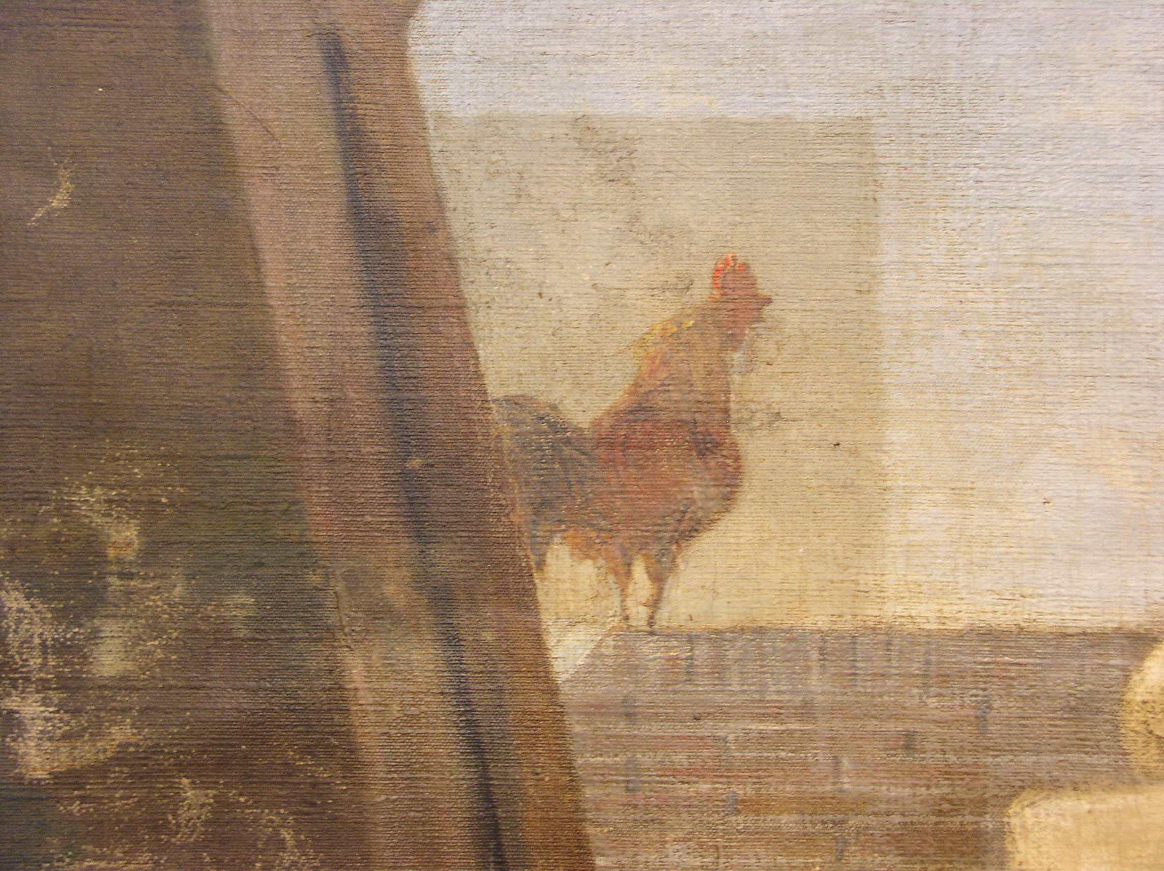 Peter Janssen - The Restoration of Peter Denying Christ - click to enlarge!