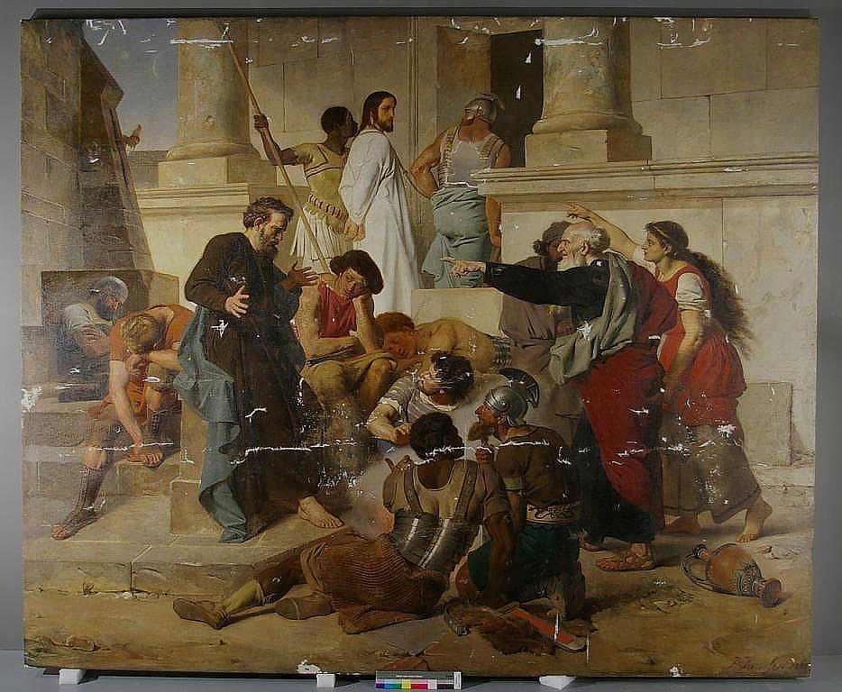 Peter Janssen - The Restoration of Peter Denying Christ - Status 19