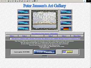Click here for the internet exhibition of Peter Janssen!
