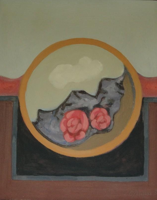 Stilleben, 1971, Gemälde von Peter Janssen. Anklicken für größere Ansicht / click to enlarge